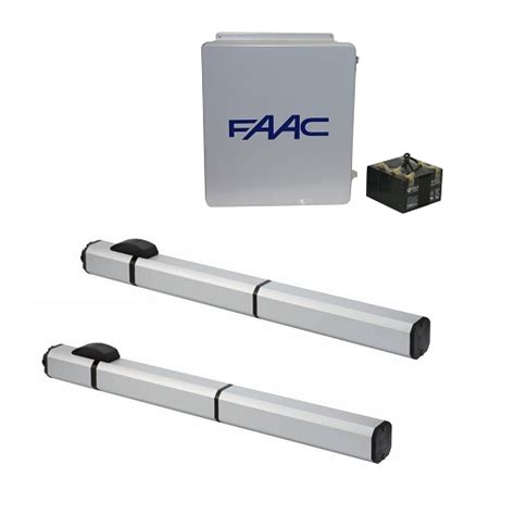 swing gate operators faac s450h hydraulic 24v swing gate opener dual kit