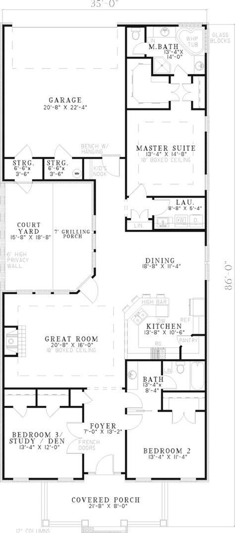 small beach house floor plans pdf shed door design reinhold vacation cottage home plan 055d 0250 house