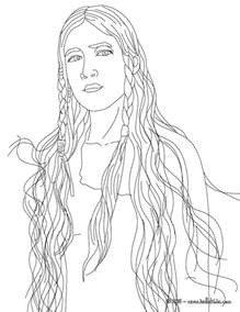 native american coloring pages printable pictures pin