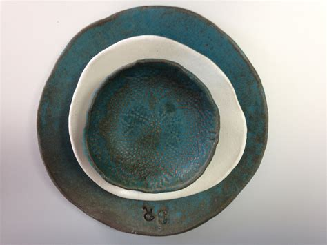 Handmade Pottery Plates - unavailable listing on etsy