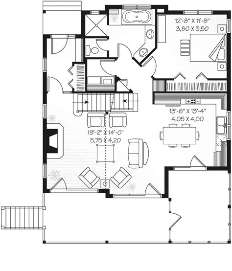 waterfront bungalow house plans blakeslee waterfront home plan 032d 0533 house plans and more