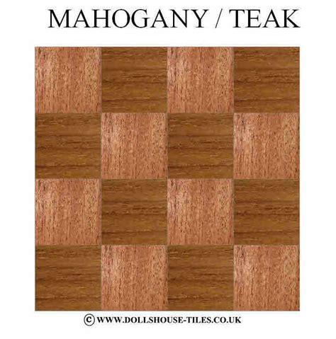 1 Inch Wood Floors - dollhouse miniatures wood flooring woodblock floor tiles