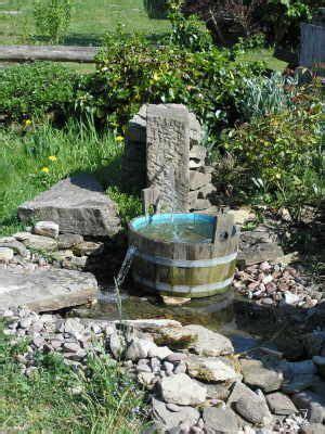 Feng Shui Brunnen Garten 845 by Erfahrungen Mit Unserem Bachlauf Gardening Inside And