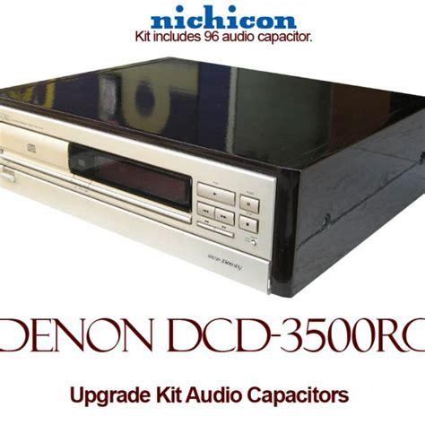 capacitor review audio denon dcd 3500rg upgrade kit audio capacitors