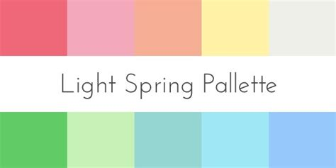 spring color schemes colors for your skin tone spring
