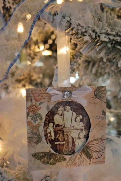 diy picture frame ornaments diy ideas