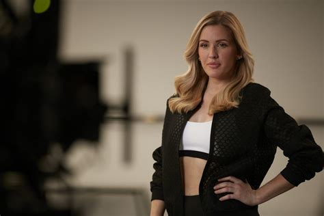 commercial model uk ellie goulding on the set of pantene pro v commercial in