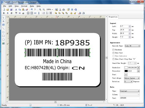 design a label on mac free barcode label design free download and software