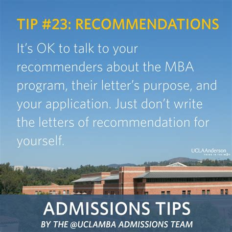 Ucla Mba Recommendation by Calling All Ucla Applicants 2016 Intake Class