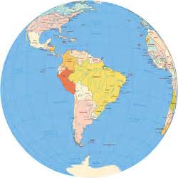 image of south america map south america map globe