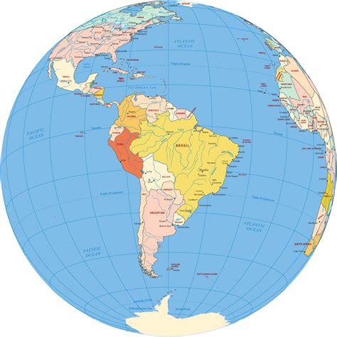 america map globe south america map globe