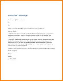 5 how to write professional emails sle emt resume