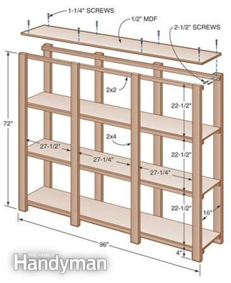 25 best ideas about garage shelving plans on
