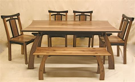 Furniture Awesome Rectangle Dining Table With Bench Wood Dining Table With Bench