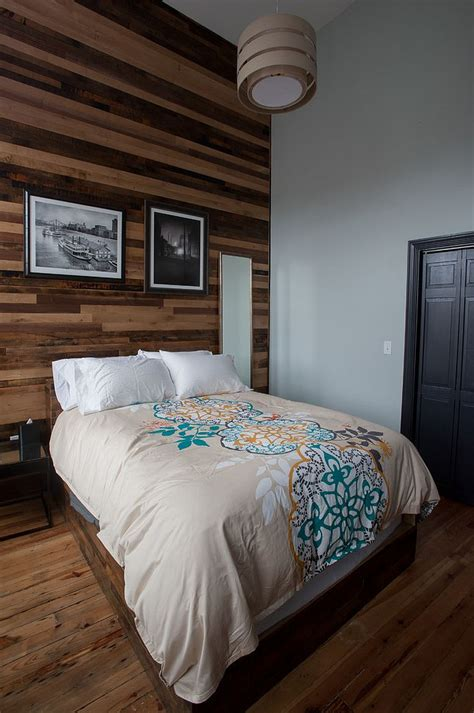 wood bedroom 25 awesome bedrooms with reclaimed wood walls