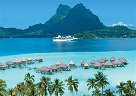 boat cruise pacific islands cruise line announces 2018 cruises to tahiti bora bora
