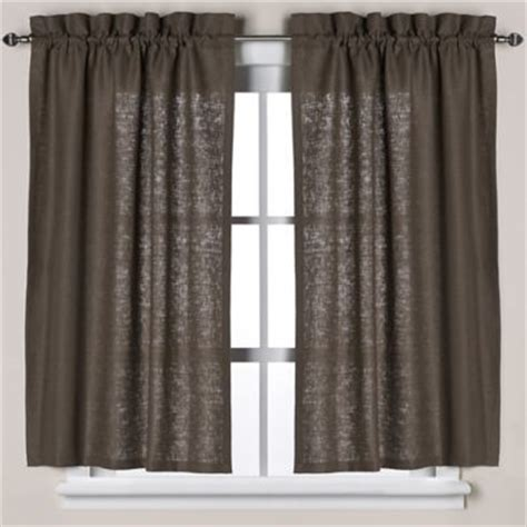 brown window curtains buy brown bath window curtains from bed bath beyond