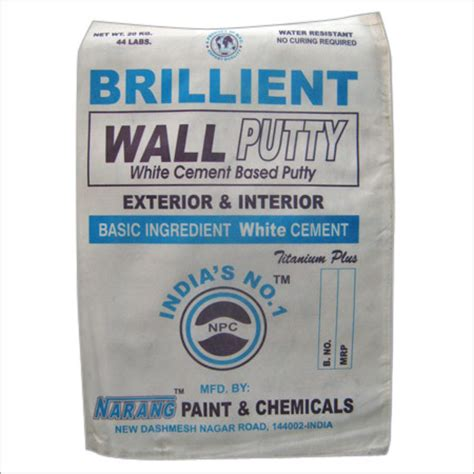 wall putty white cement based wall putty white cement based wall