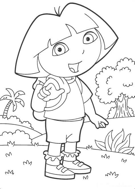 imagenes infantiles para colorear pdf dora exploradora 32 dibujo de dora la exploradora para