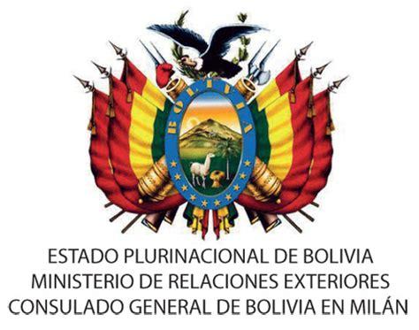 consolato bolivia il consolato generale della bolivia in presenta la