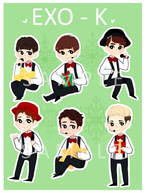 exo stickers pictures to pin on pinsdaddy