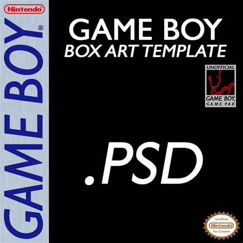 Super Nintendo Box Art Template Www Pixshark Com Images Galleries With A Bite Gameboy Label Template