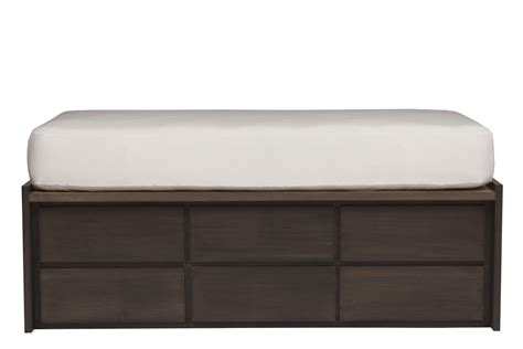 bed with drawers thompson king bed beds bedroom by urbangreen furniture new york