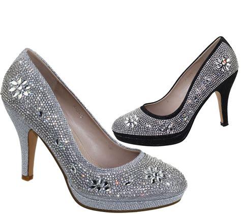High Heels Giardino Grdn 109 womens platforms high heels wedding bridal evening diamante shoes ebay