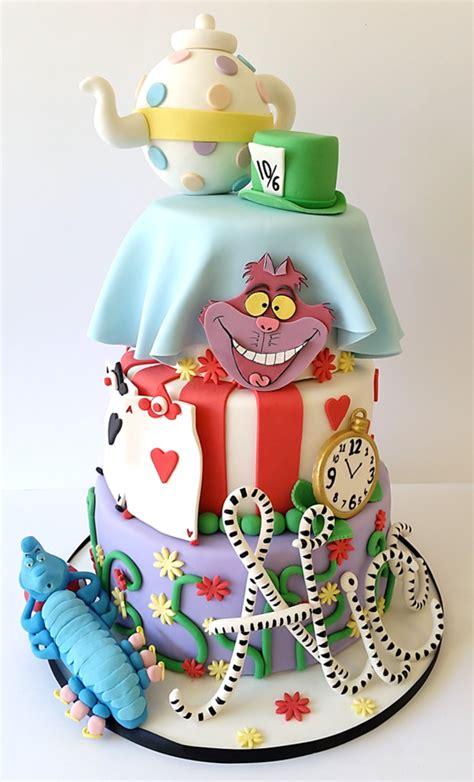 Im Wunderland Basteln by In Theme Cake For A 21st Birthday