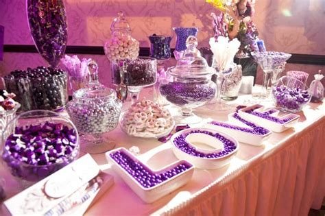 purple candy table yelp