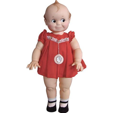 kewpie doll 26 inch all original cameo kewpie doll from
