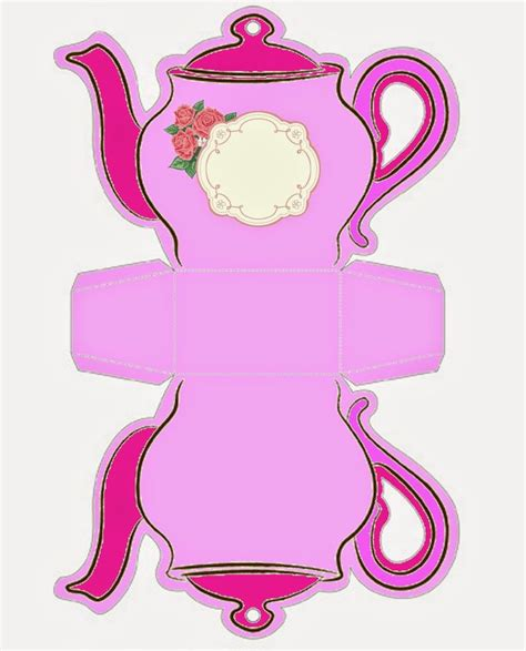 shabby chic teapot free printable boxes 6596 best images about free box prints on pinterest