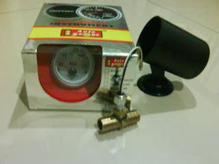 diy dix pasang water temp indikator merk autogauge pada aerio 1st