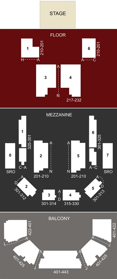 moody theater seating chart acl live at moody theater tx seating chart