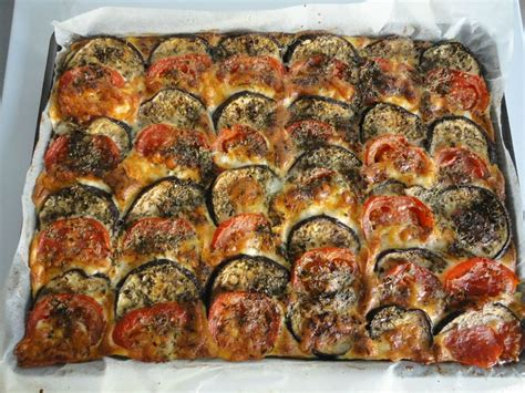 recette de cuisine avec aubergine tian d aubergines et tomates 224 la mozarella les