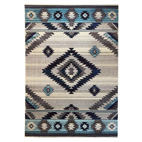 area rugs southwestern design donnieann expressions southwestern design bone 5 ft x 7 ft indoor area rug ex1033bn the home