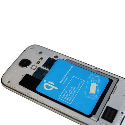 Samsung Galaxy S10 Qi by Qi Wireless Charging Adapter For Samsung Galaxy S4