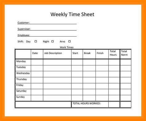 time cards templates downloads printable time sheets free time sheets simple