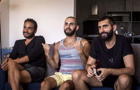 israeli men in bed film highlights struggles of gay arabs in israel the