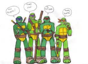 turtles names and color take on tmnt 2012 by kessielou on deviantart