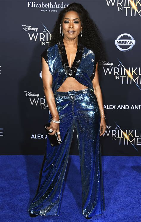 Shaves Now The Carpet Really Does Match The Drapes by Angela Bassett Flaunts Toned In One Swimsuit