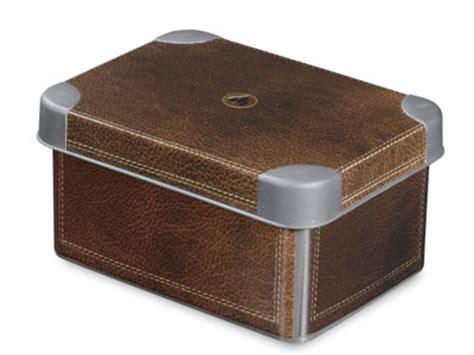 deko platzsparend lagern boxen kisten und k 228 stchen f 252 r - Aufbewahrungsbox Lederoptik