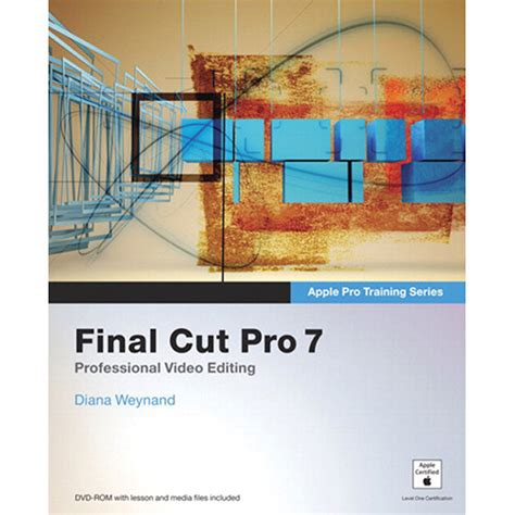 final cut pro workshop apple final cut pro 7 pro training series bf265ll a b h photo