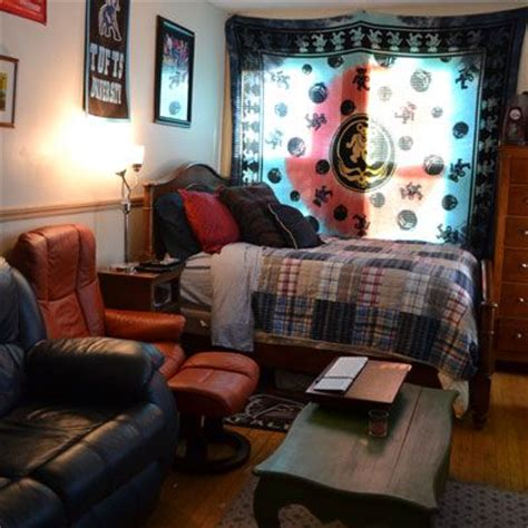 best visual in dorm room ideas for guys great dorm room for guys tapestry leather furniture