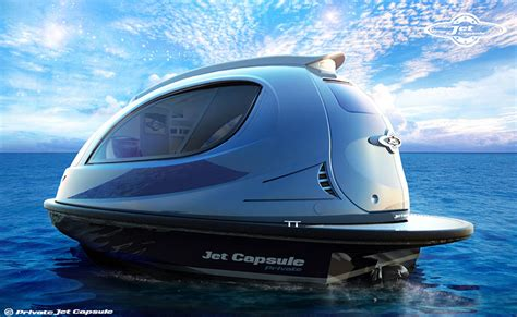 jet boat kuwait jet capsule water boats proposes private taxi versions