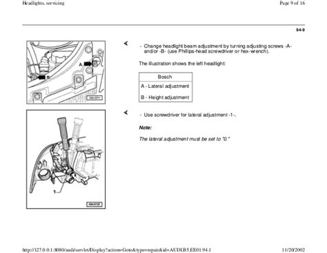 audi a4 b5 headlight upgrade wiring diagrams wiring diagram
