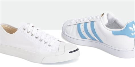 white sneakers trend 6 coolest white sneakers for in summer 2018 on trend