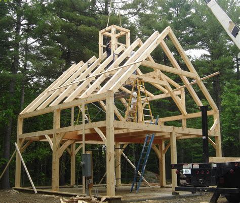 pre cut timber frame totry    frame house plans