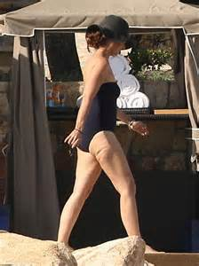 maria shriver in swimsuit on vacation in los cabos