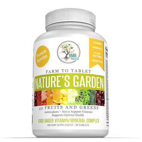 Natures Garden Coupon by Premium Whole Food Multivitamin Nature S Garden Minerals